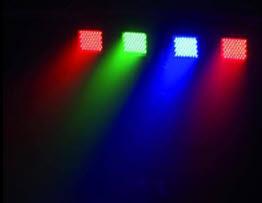 LED Lichtbar in allen Farben mit Strobeffekt