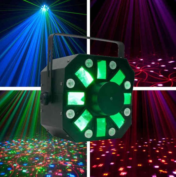 LED Lichtefekt Stinger mit Laser